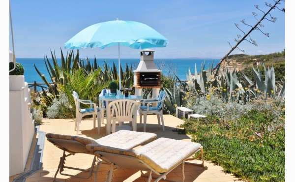 Terrasse mit fantastischen Meerblick / Terrace with sea view